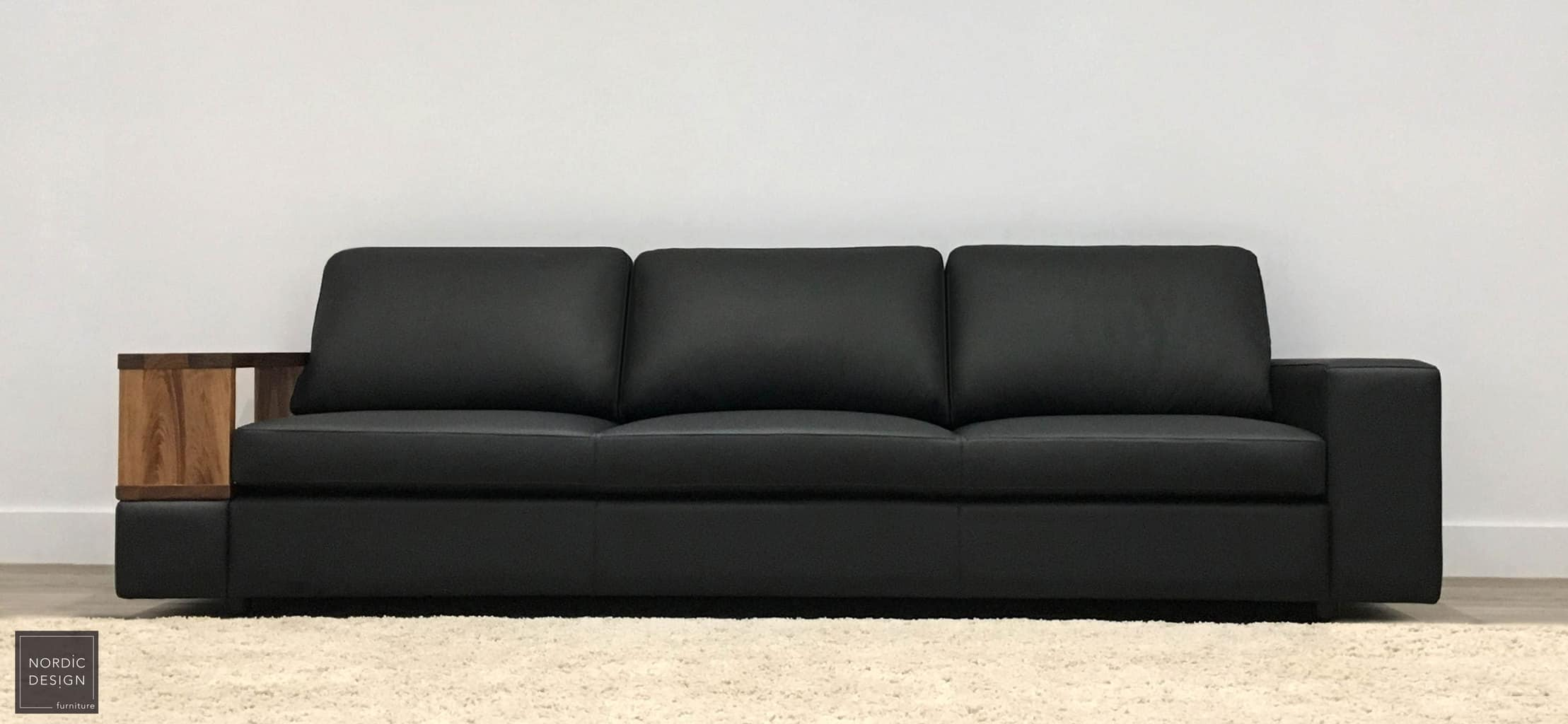 leather modular lounge
