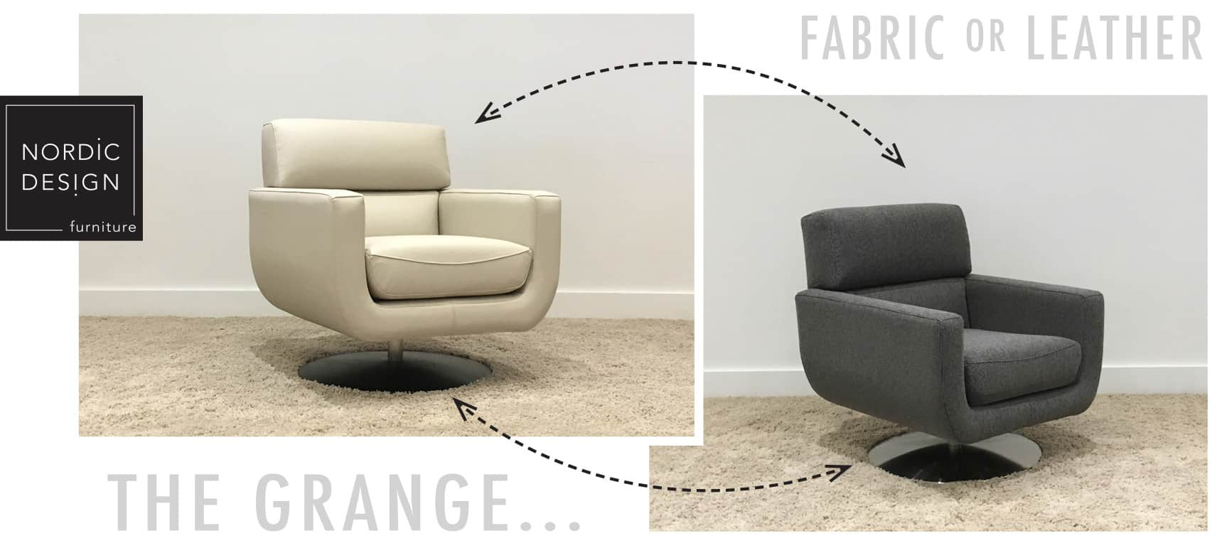The Grange Swivel Chair