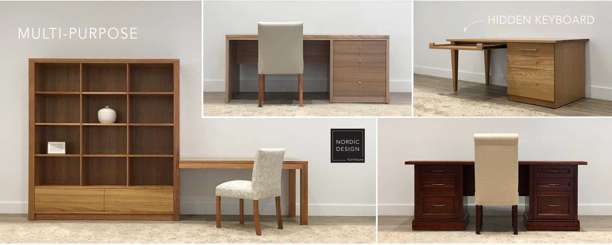 Custom Home Office Furniture Visit Nordic Design Furniture