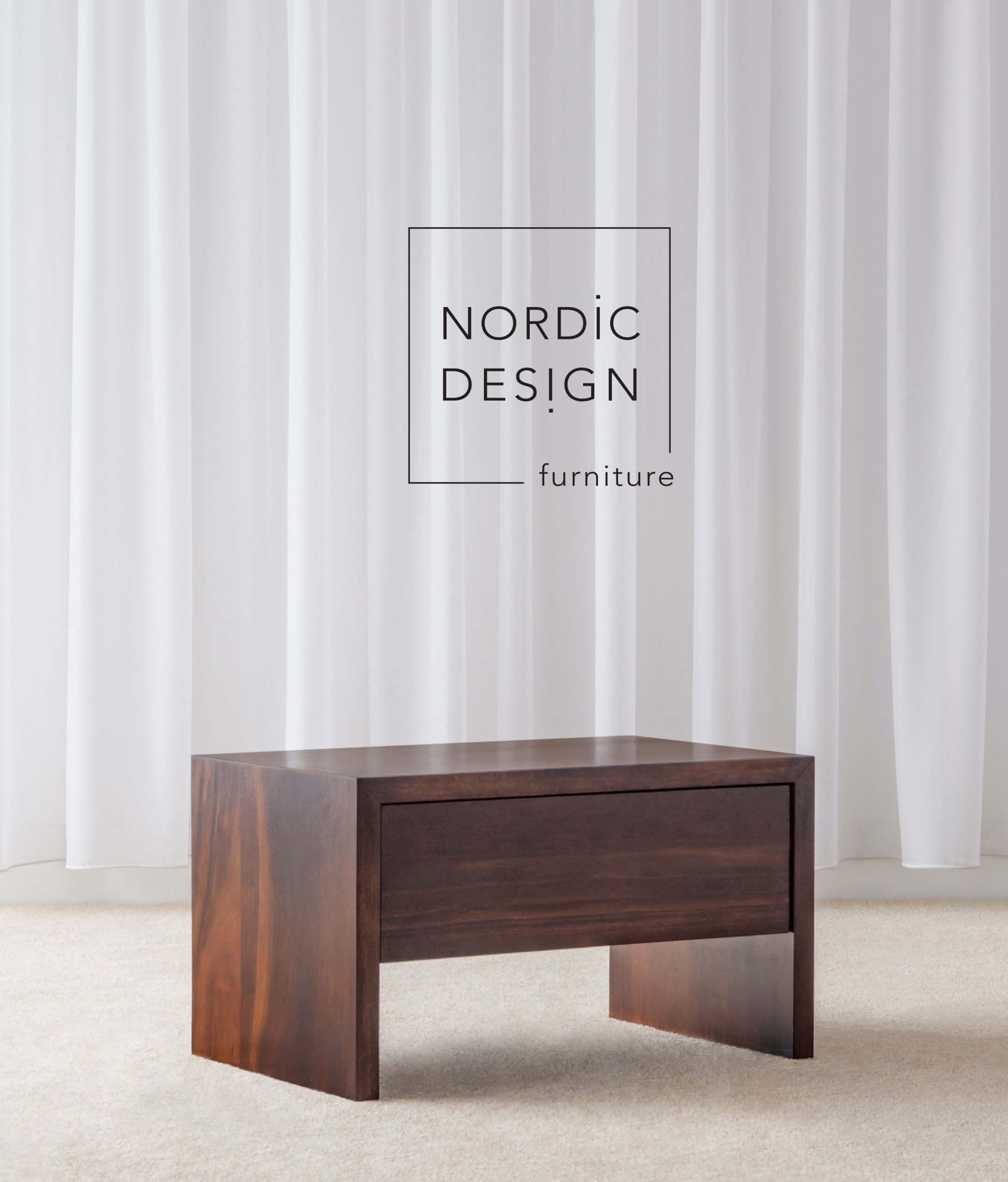 Custom timber bedside tables