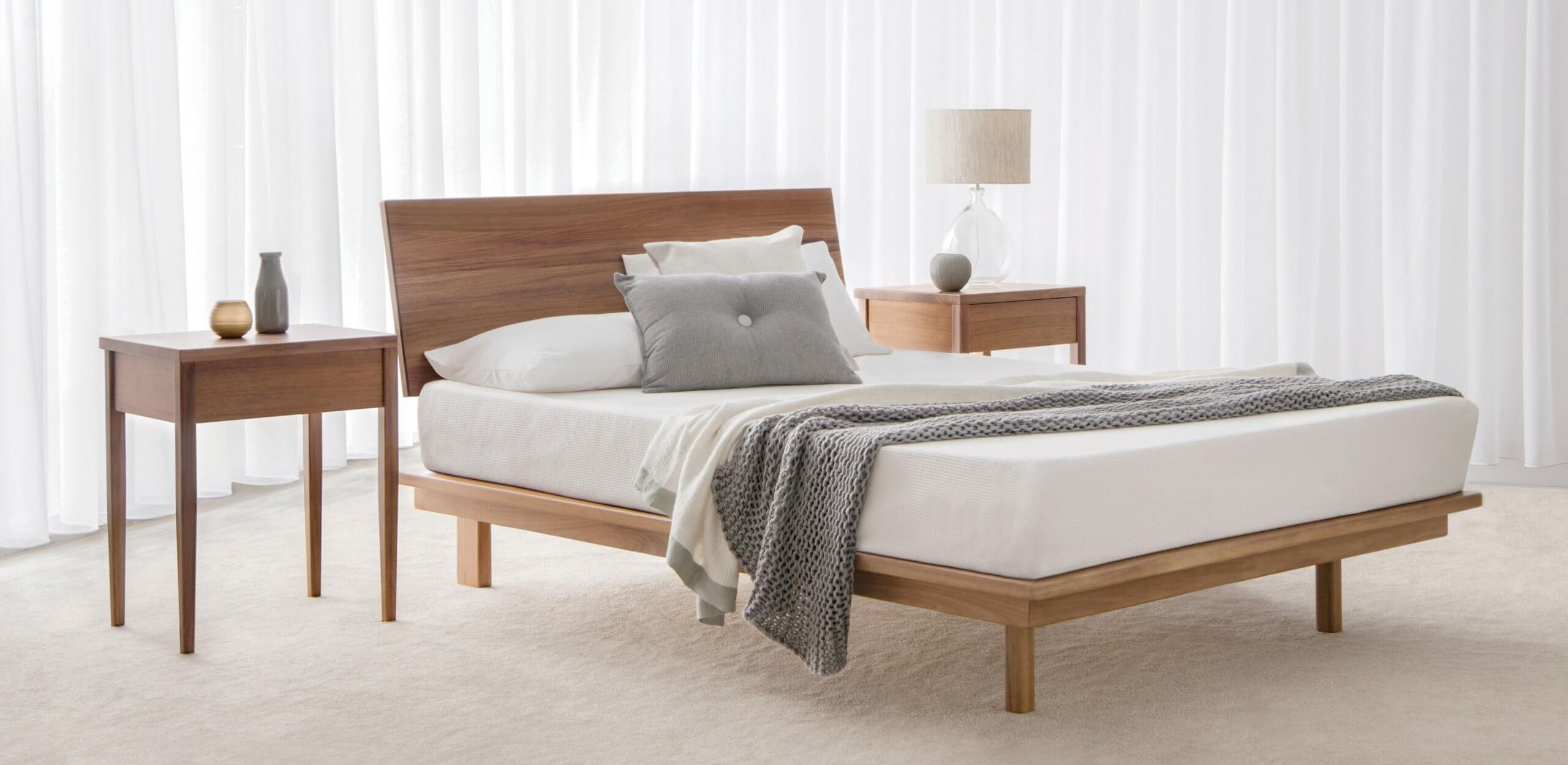 solid timber bed frame made in South Australia