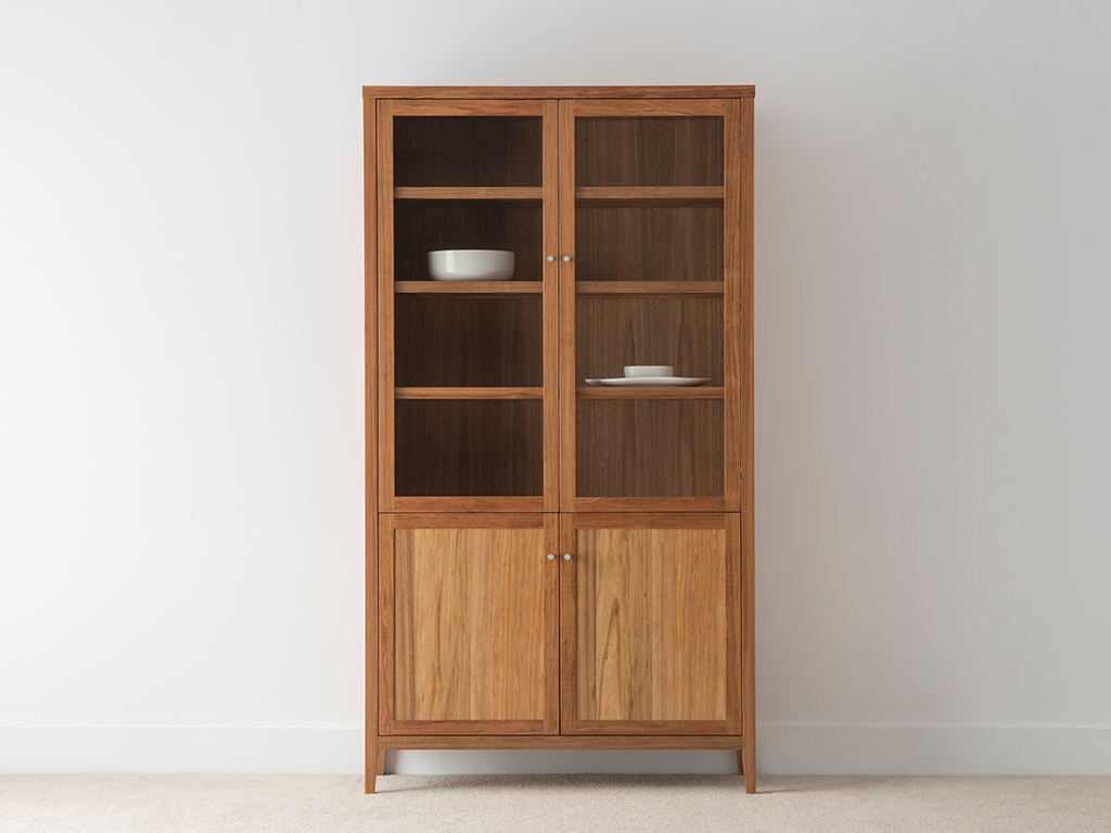 modern glass display cabinets made in Adelaide