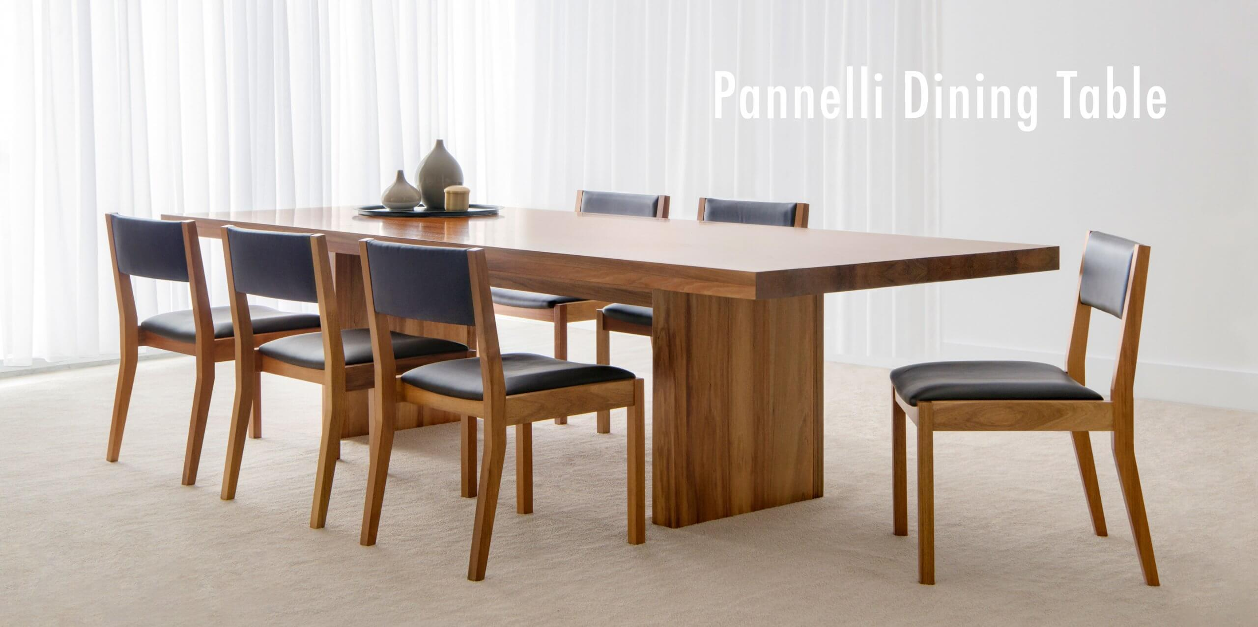 Pannelli Dining Table with Dane Dining Chair
