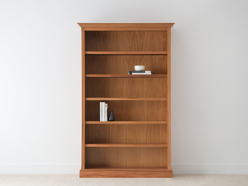 custom timber bookcase made in Adelaide