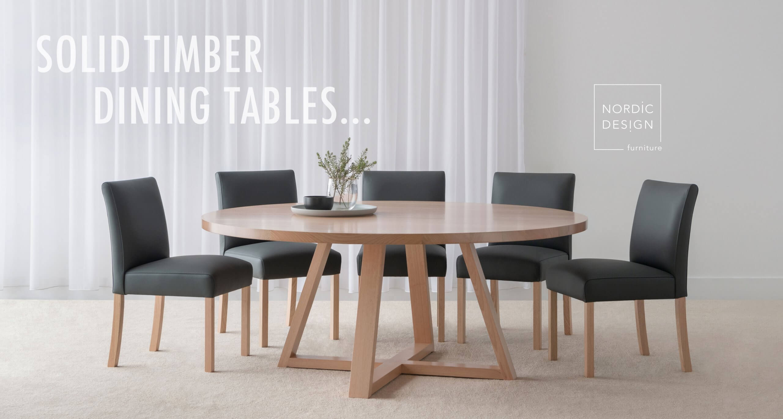 solid timber dining tables in Adelaide
