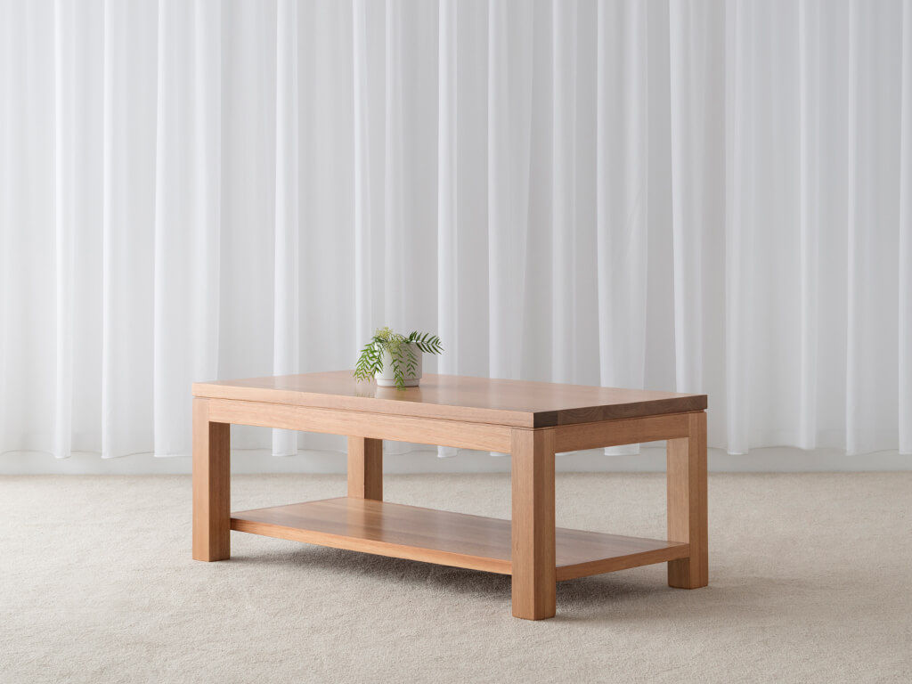 timber coffee table made in Adelaide