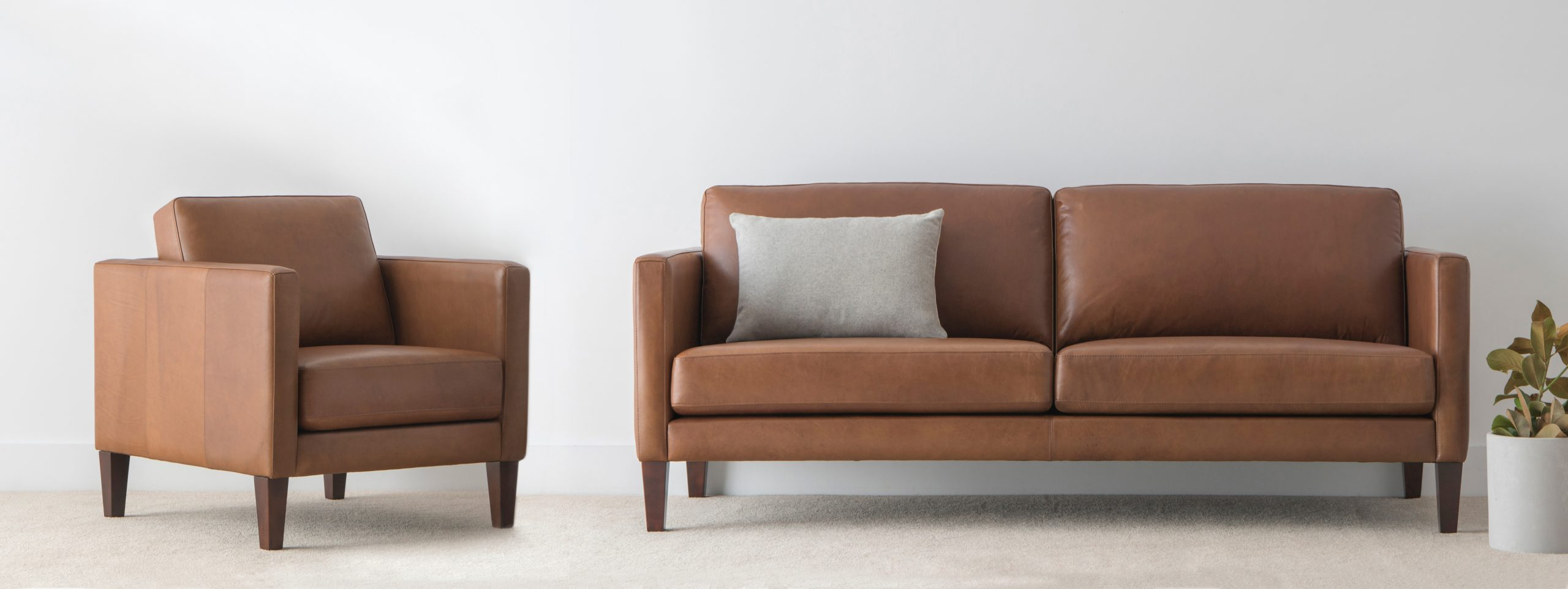 leather lounge suite made in Adelaide