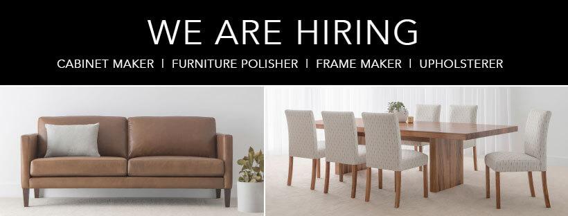 hiring furniture makers Adelaide