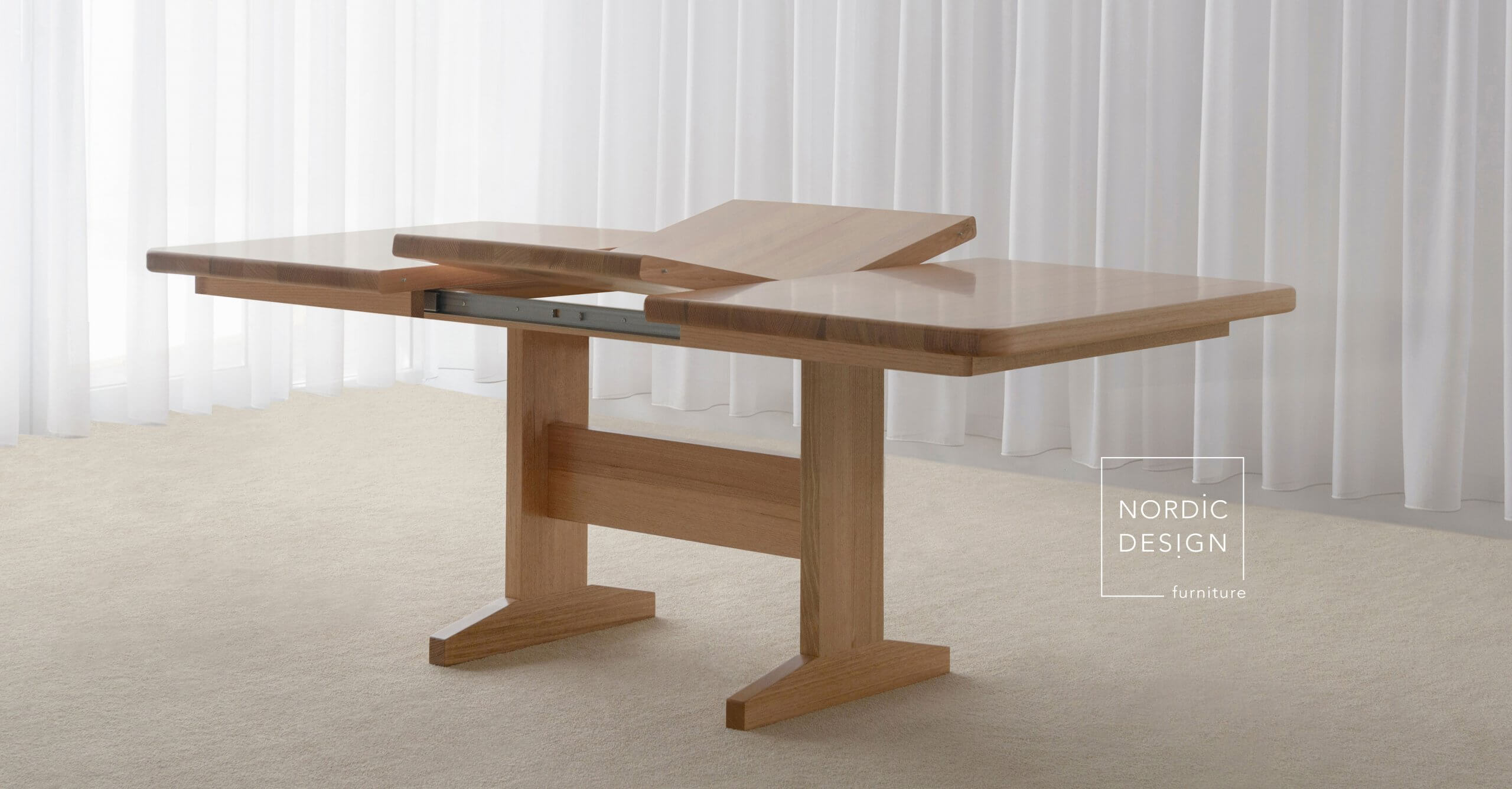 Extension Dining Table mechanism