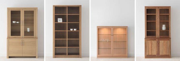 Display Cabinet Design Variations