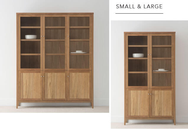 Custom Size Timber Wall Cabinets