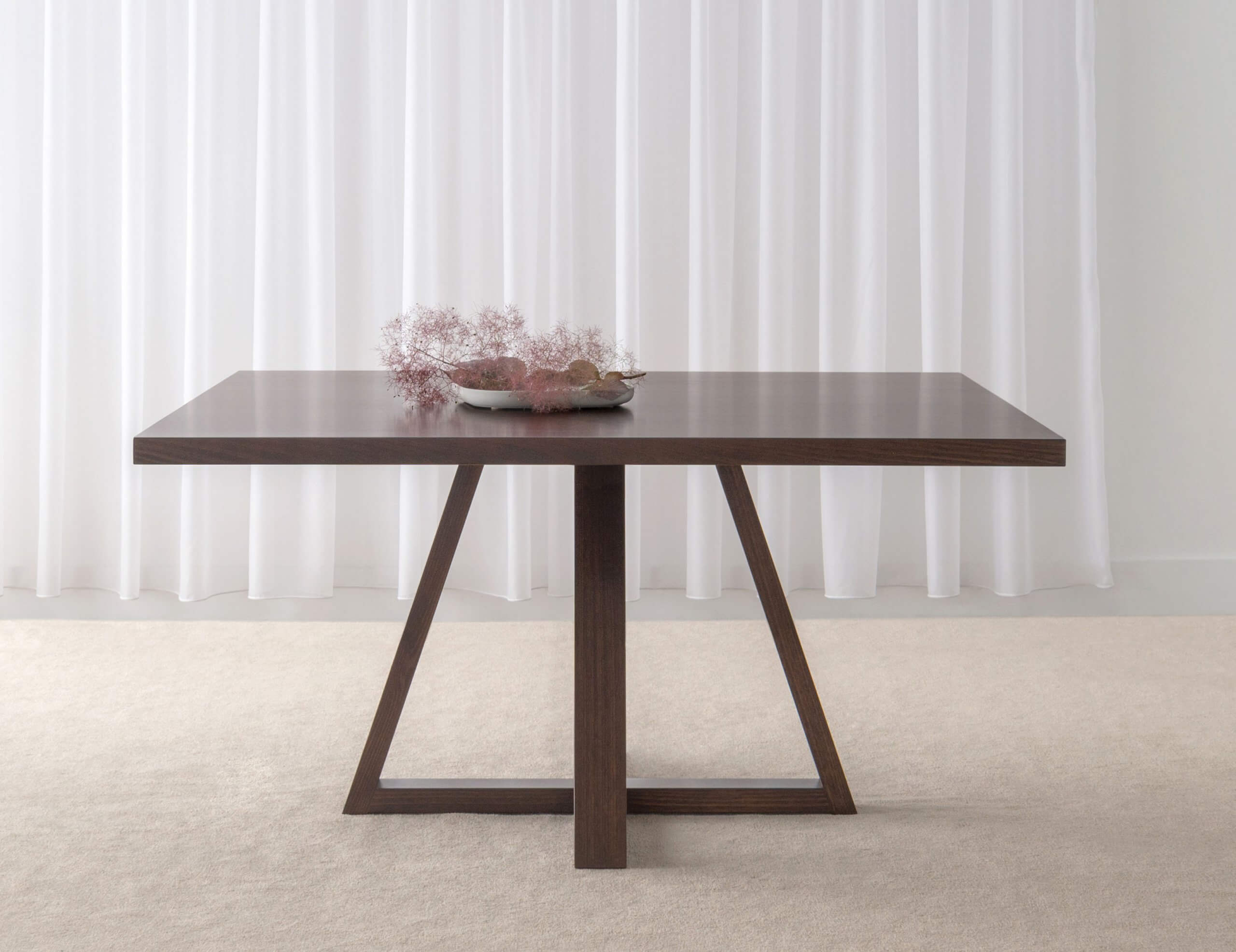 square dining table made in Adelaide