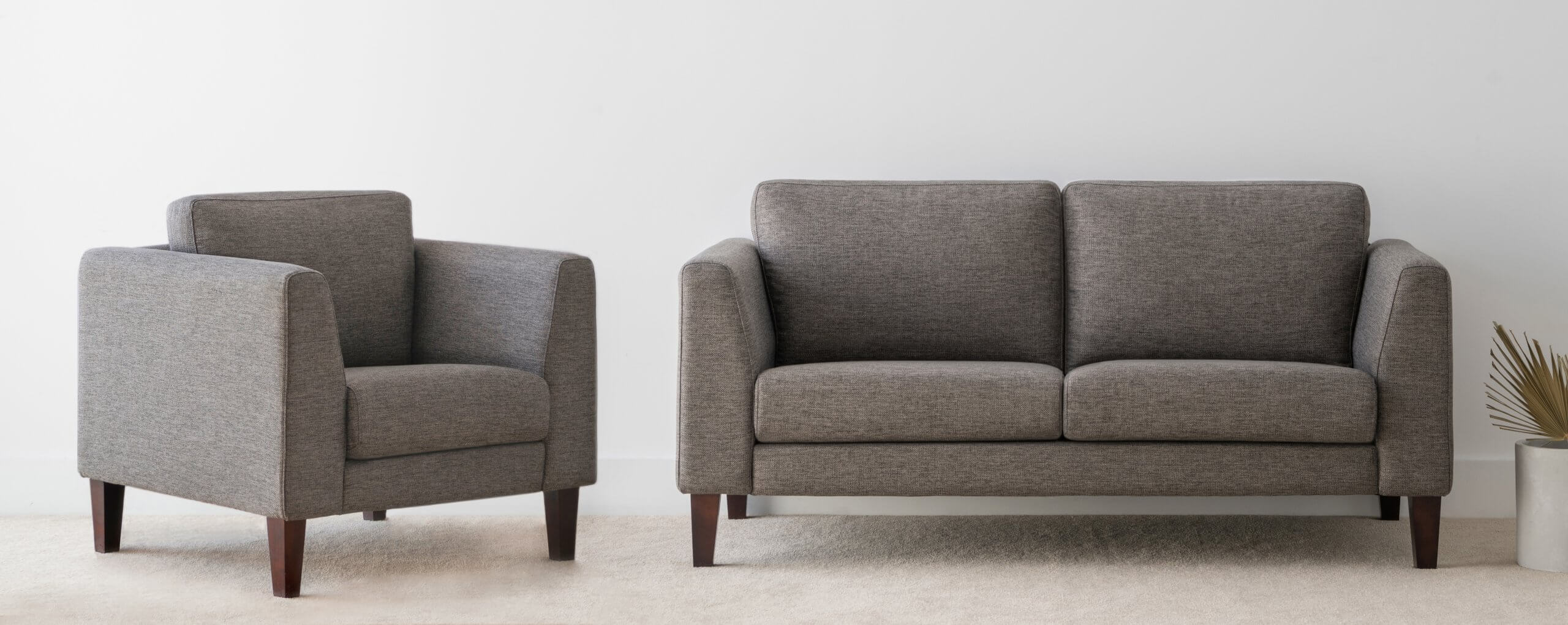 Fabric Lounge Suite locally made in Adelaide