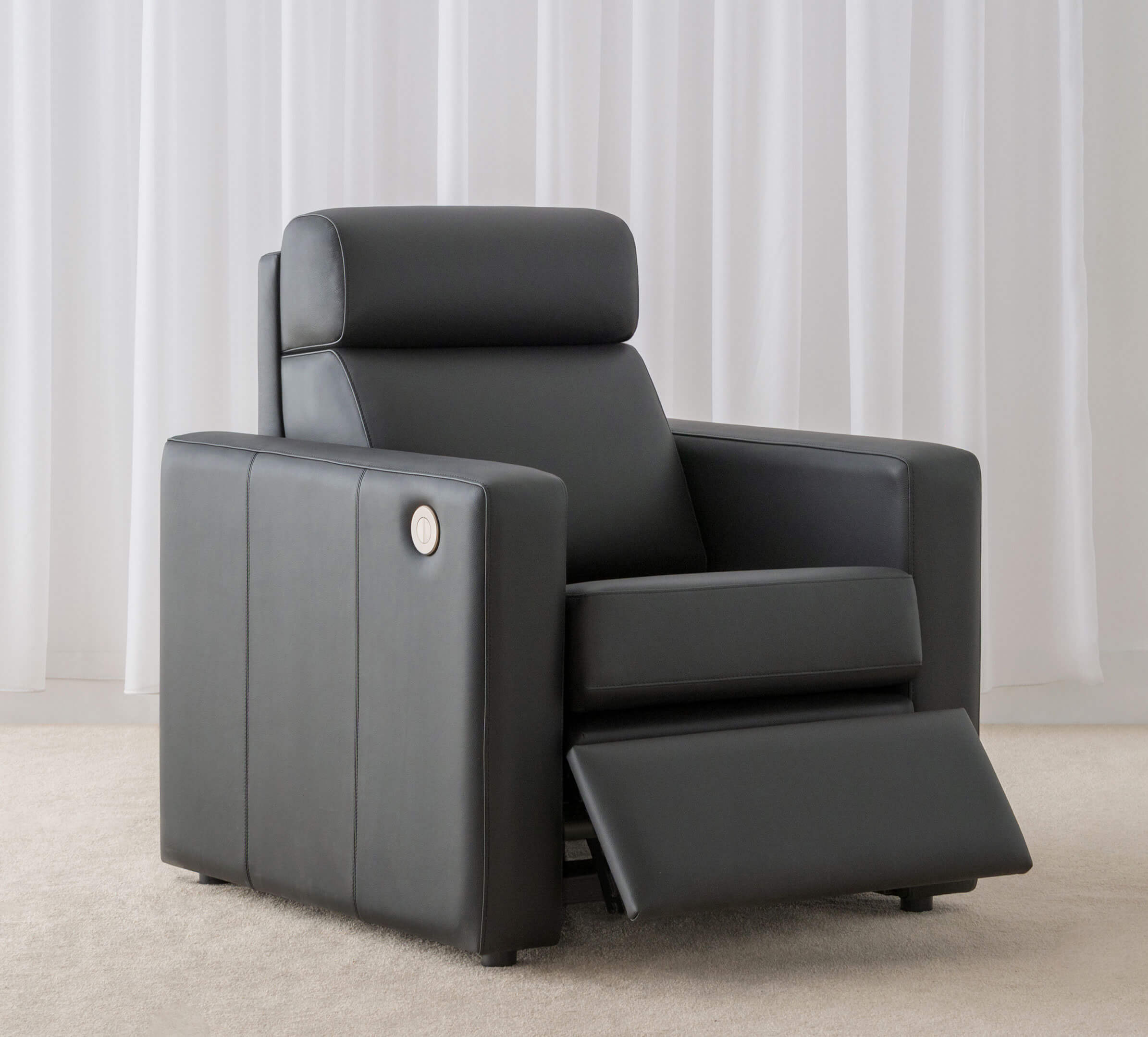 leather recliner chair made in Adelaide